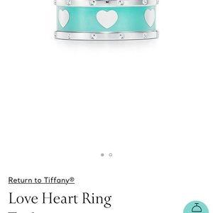 Loving heart T&Co ring